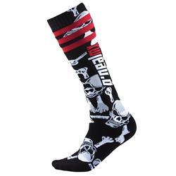 O'Neal Unisex Socken Pro MX Crossbones, Schwarz
