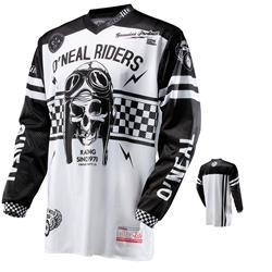 O'Neal Herren Jersey Ultra Lite LE´70, Weiß