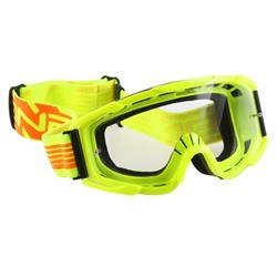 O'Neal Crossbrille B2 RL Goggle Threesixzero Clear, Gelb