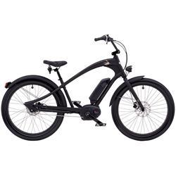 """Electra Herren Fahrrad Ace GO! E-Bike, Schwarz, 8 Gang, 26"""""""