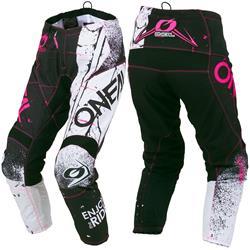 O'Neal Damen Motocross Hose Element Shred, Pink