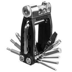 Topeak Multifunktionswerkzeug Ninja 16+ Kompatibel mit Ninja Cage Flaschenhaltern, Schwarz