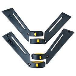 Topeak Schutzblechhalterung für DeFender XC1, Schwarz