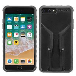 Topeak Handyhülle & Halterung Ridecase Kompatibel mit Apple iPhone 6+/6S+/7+/8+, Schwarz