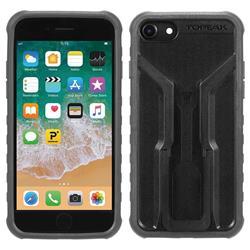 Topeak Handyhülle & Halterung RideCase Kompatibel mit Apple iPhone 6/6S/7/8, Schwarz