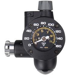 Topeak CO2 Kartuschenpumpe Airbooster_TG, Schwarz