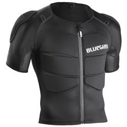 Bluegrass Unisex Protektorenjacke Armour B&S, Schwarz