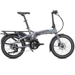 "Tern Unisex Fahrrad Vektron P7i LR E-Bike Faltrad, Grau Blau, 7 Gang, 20"""