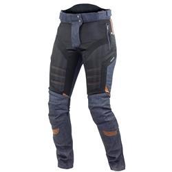 Trilobite Damen Motorradhose Airtech, Schwarz Blau