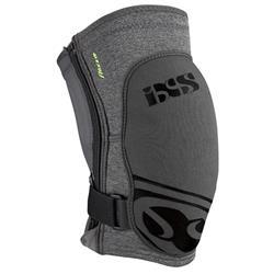 iXS Unisex Knieschoner Flow Zip, Grau