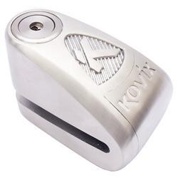Kovix Alarmschloss Bremsscheibe KAL10 10 mm, Silber