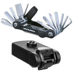 Topeak Multifunktionswerkzeug Ninja ToolBox T20 Kompatibel mit Ninja Cage Flaschenhaltern, Schwarz