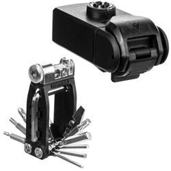 Topeak Multifunktionswerkzeug Ninja ToolBox T16 Kompatibel mit Ninja Cage Flaschenhaltern, Schwarz