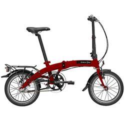 """Dahon Unisex Fahrrad Curve i3 Faltrad, Rot, 3 Gang, 16"""""""