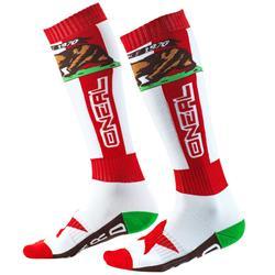O'Neal Unisex Socken Pro MX California, Rot