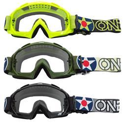 O'Neal Crossbrille B-10 Goggle Warhawk Clear