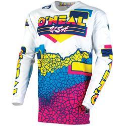 O'Neal Herren Jersey Mayhem Crackle 91, Mehrfarbig