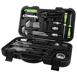 Birzman Werkzeugkoffer Travel Tool Box 20-teilig, Schwarz