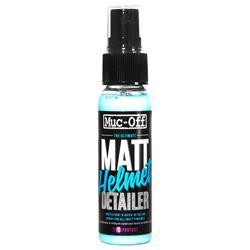 Muc Off Pflegemittel Matt Finish Helmet Detailer 32 ml, Blau