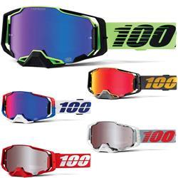 100% Crossbrille Armega Hiper Anti Fog Verspiegelt