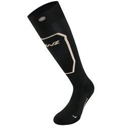Lenz Unisex Beheizbare Socken Heat 1.0 Slim Fit ohne Akku, Schwarz Bronze