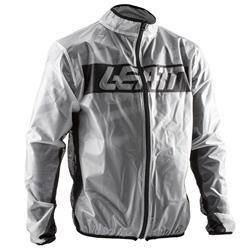 Leatt Herren Regenjacke Racecover Rain Jacket, Transparent