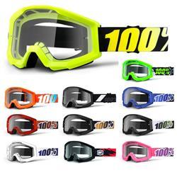 100% Crossbrille Strata Goggle Clear