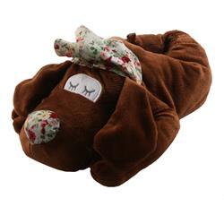 Tierhausschuhe Damen Hausschuhe Schlafmütze Hund