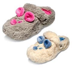 Tierhausschuhe Damen Clog Hausschuhe Maus