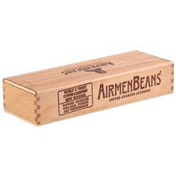 AirmenBeans Geschenkbox Schiebedeckel, Braun