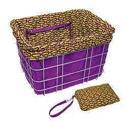 Electra Fahrradkorbeinsatz Basket Liner, Violett