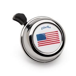 Electra Fahrradklingel American Flag, Weiß