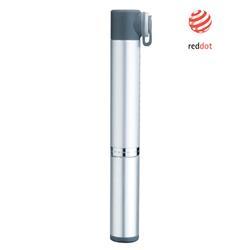 Topeak Handpumpe Micro Rocket Aluminium, Silber