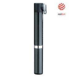 Topeak Handpumpe Micro Rocket Carbon, Schwarz