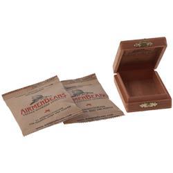AirmenBeans Kaffee Pastillen Zedernholzbox 42er Set, Braun
