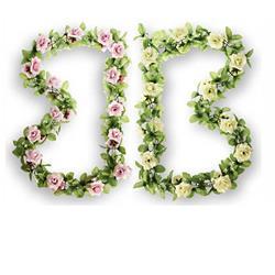Basil Lenkerblume Roses Garland