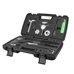 Birzman Werkzeugkoffer Essential Tool Box 13 Teile, Schwarz