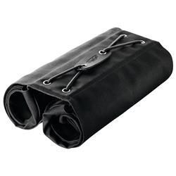 Brooks Gepäckträger Tasche Brick Lane Roll Up 24 Liter, Schwarz