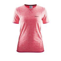 CRAFT Damen Shirt Active Comfort RN SS W Crush, Pink
