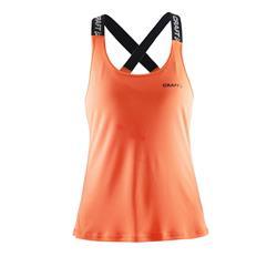 CRAFT Damen Tank Top Pure Elastic, Orange