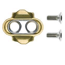 Crankbrothers Pedalplatten 2-Loch Premium, Gold