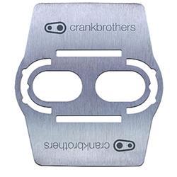 Crankbrothers Pedalplatten 2-Loch Shoe Shield, Silber