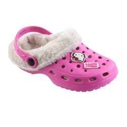Tierhausschuhe Kinder Clog Hausschuhe Hello Kitty, Pink