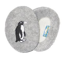 (( earbags | PENGUIN Ear Warmers, Grey