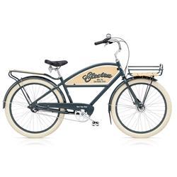 """Electra Herren Fahrrad Delivery 3i Chicago Lastenrad, Grau, 3 Gang, 26"""""""