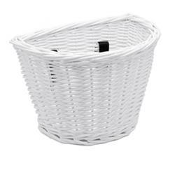 B-Ware: Electra Kinder Fahrradkorb Wicker Basket, Weiß
