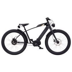 """Electra Herren Fahrrad Cafe Moto GO! E-Bike, Schwarz, 26"""""""