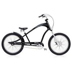 "Electra Herren Fahrrad Ghostrider 3i Beachcruiser, Schwarz, 3 Gang, 24"""