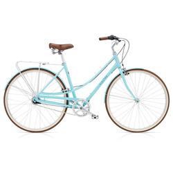 "Electra Damen Fahrrad Loft 7i Stadtrad, Blizzard Blau, 7 Gang, 50 cm, 28"""