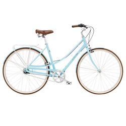 """Electra Damen Fahrrad Loft 7i Stadtrad, Blau, 7 Gang, 28"""""""